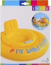 Intex Zwemband Baby Float Geel - 70cm - tot 11 kilogram