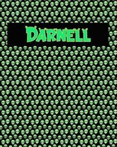 120 Page Handwriting Practice Book with Green Alien Cover Darnell