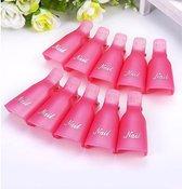 Trendy Nagelclips: voor het verwijderen van gel-nagellak & acryl - Roze