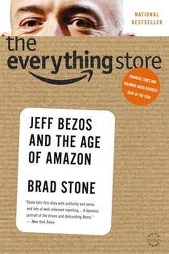 Boek cover Everything Store: Jeff Bezos and the Age of Amazon van Brad Stone (Voordeeleditie)