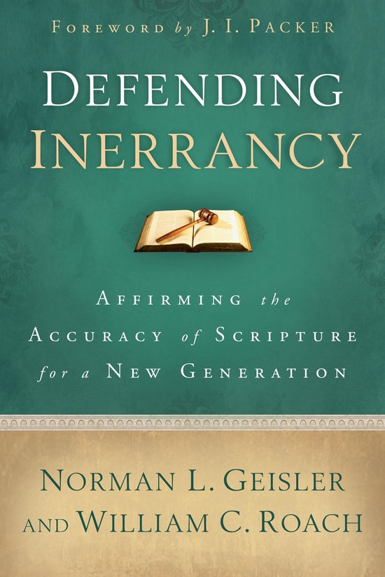 Boek cover Defending Inerrancy van Norman L. Geisler (Onbekend)