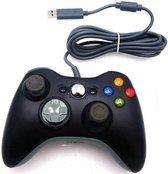 Coretek Controller voor XBOX 360 - bedraad - zwart - 1,5 meter