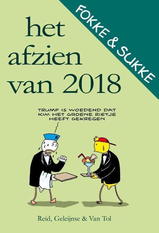 Boek cover Fokke & Sukke  -   Het afzien van 2018 van John Reid (Paperback)