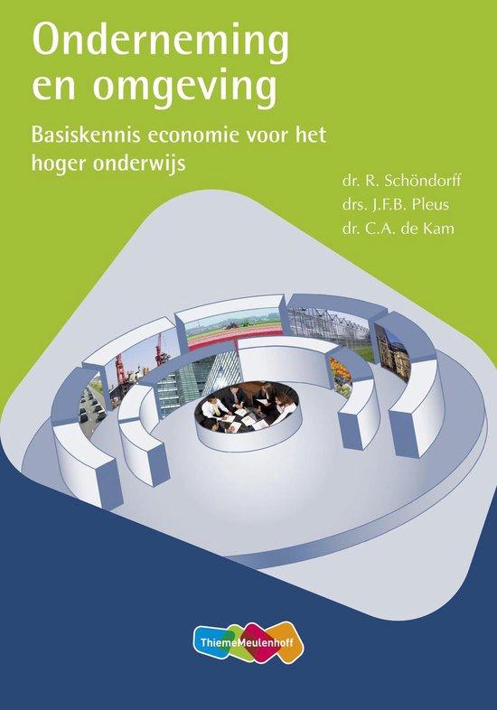 Boek cover Onderneming en omgeving van R. Schondorf (Paperback)