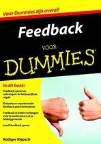 Voor Dummies - Feedback voor Dummies