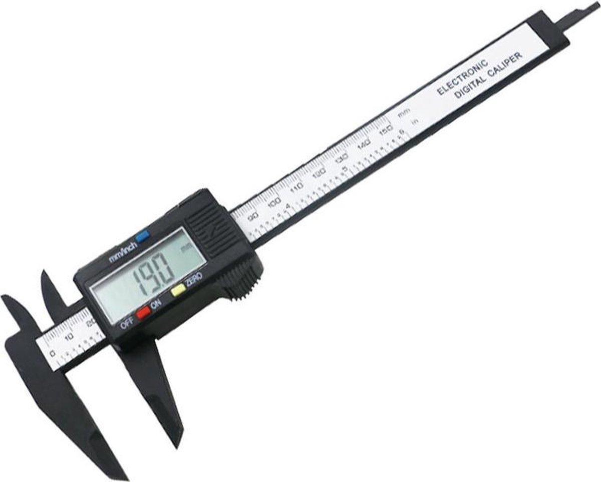 Digitale Schuifmaat 150 mm Meetbereik - Met LCD Display