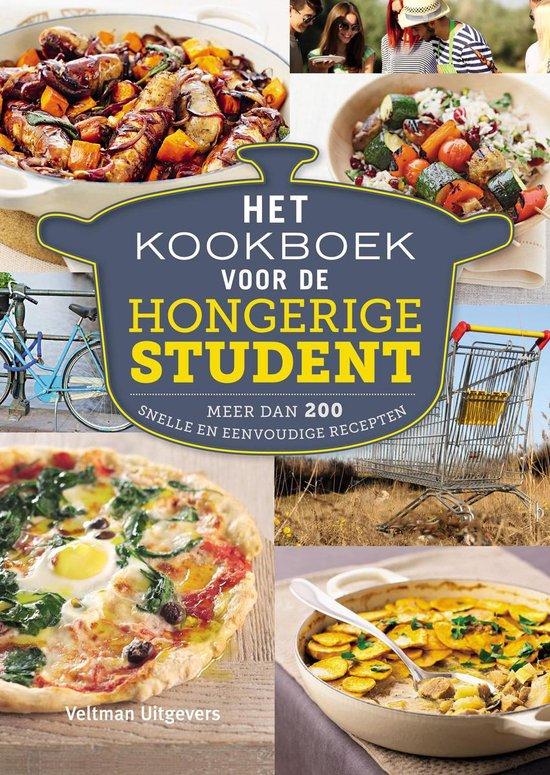 Boek cover Het kookboek voor de hongerige student van Cara Frost-Sharratt (Paperback)