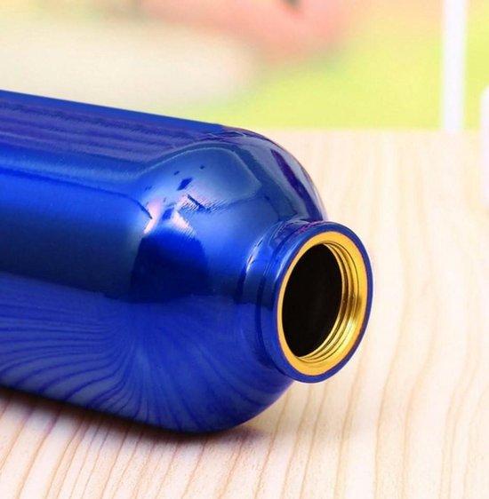 Aluminium drinkfles / bidon - Blauw - BPA vrij - 500ml - SPORT/KAMPEREN/VRIJETIJD - BensonvB