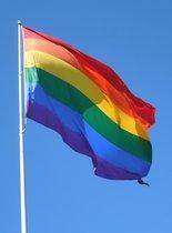 Regenboogvlag XXL 250x150CM   LGBT Pride Flag   Regenboog Vlag