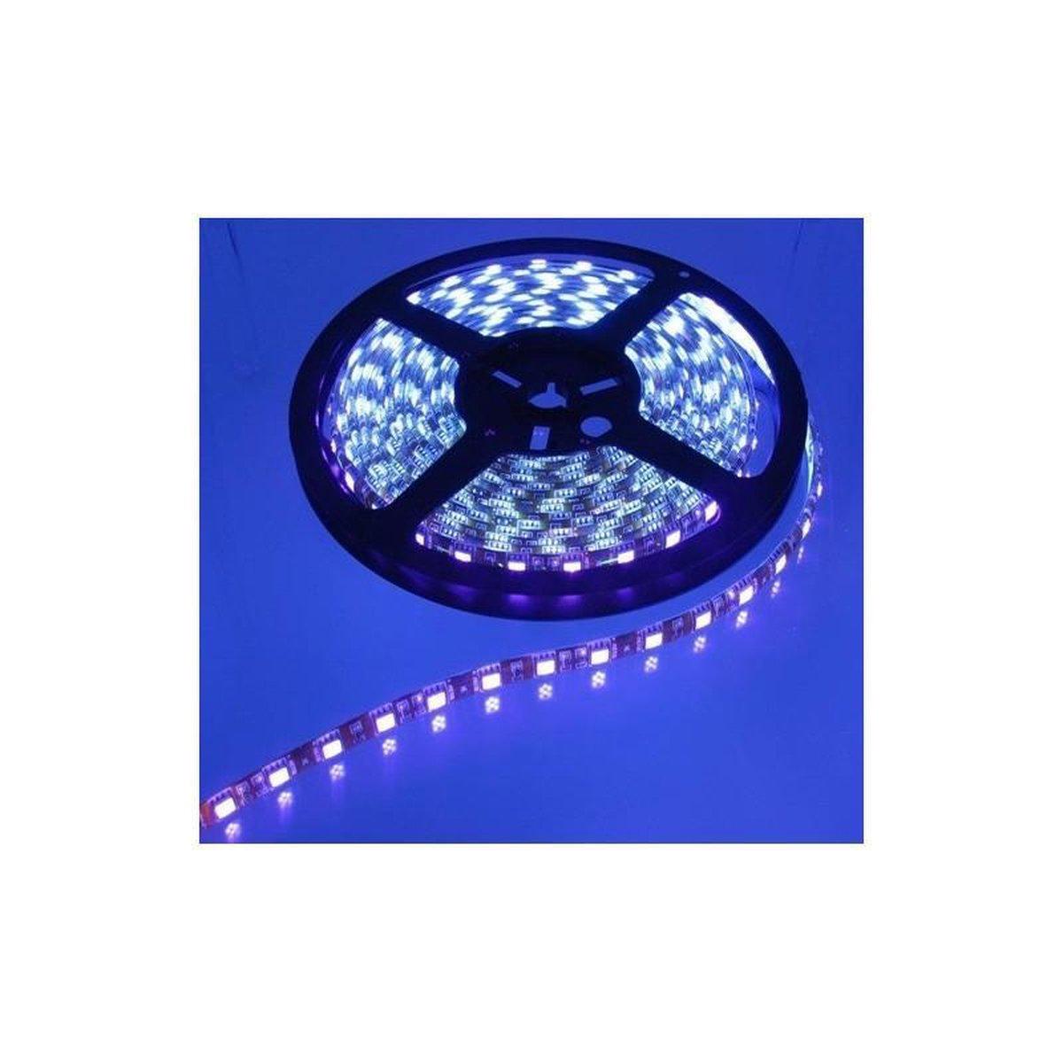 1 Meter UV Ultraviolet 12V Led Strip 60LED IP65 SMD3528