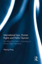 Omslag International Law, Human Rights and Public Opinion