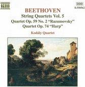 Beethoven: String Quart. Vol.5