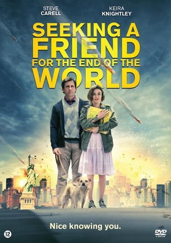 Cover van de film 'Seeking A Friend For The End Of The World'