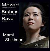 Mozart: Rondo; Brahms: Sonata; Ravel: La Valse