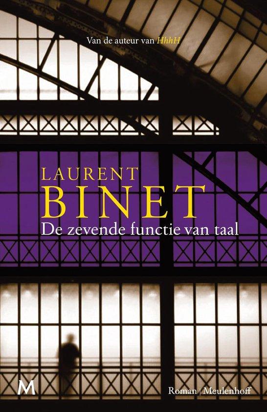 De zevende functie van taal - Laurent Binet | Fthsonline.com