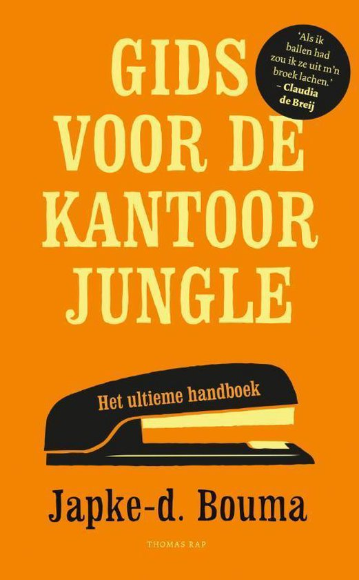 Boek cover Gids voor de kantoorjungle van Japke-d. Bouma (Paperback)