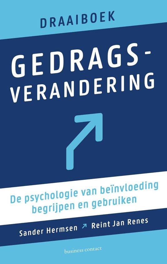 Boek cover Draaiboek gedragsverandering van Reint Jan Renes (Paperback)