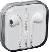 Afbeelding van iPhone in-ear oordopjes - 3.5mm met afstandsbediening en microfoon - Headset voor Apple iP