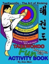 Taekwondo fun activity book