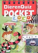 Pocket Loco Dierenquiz boekje