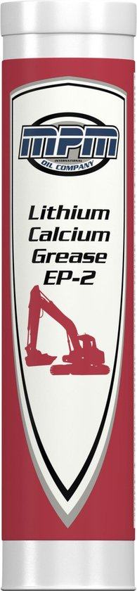 Smeervet lithium calcium grease 2 vetpatronen
