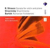 Sonata For Violin And Piano / Divertimento / Romanian Folkdances