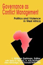 Governance as Conflict Management