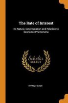 The Rate of Interest