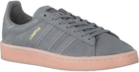 Adidas Campus W By9838 - Schoenen-sneakers Vrouwen Grijs/roze Maat 36.5 pzhS80