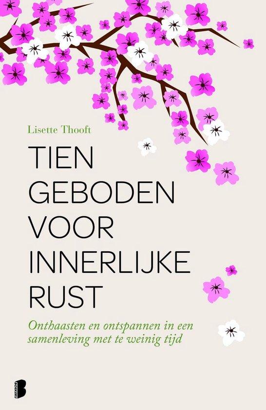 Boek cover Tien geboden voor innerlijke rust van Lisette Thooft (Onbekend)