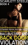 Clueless Businessman Defends A Duo Of Femdom Women And Finds Himself Worshipping Their Ass In An Afternoon Of Ballbusting and Back Door Violation!