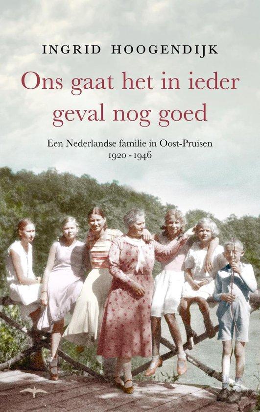 Boek cover Ons gaat het in ieder geval nog goed van Ingrid Hoogendijk (Onbekend)