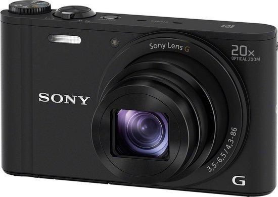 Sony Cybershot DSC-WX350 - Zwart