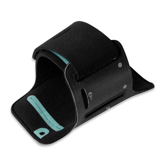 #DoYourFitness - Sportarmband - »RunnerMan« - Hardlooparmband voor telefoon - MEDIUM 60 cm - Navyblauw