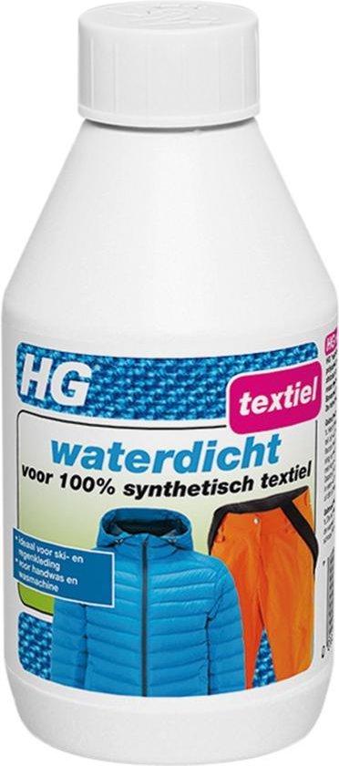 waterdicht voor 100% synthetisch textiel