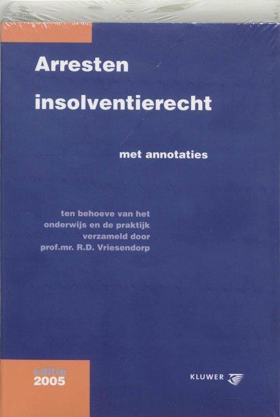 Arresten insolventierecht - none |
