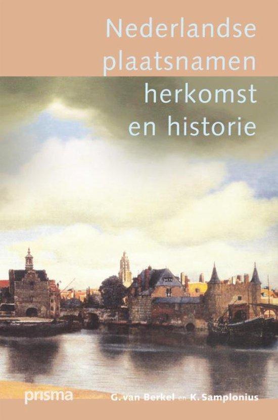 Nederlandse Plaatsnamen - G. van Berkel |