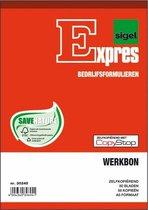 WERKBONBLOK A5 zelfkopierend 2x50blad