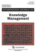 International Journal of Knowledge Management, Vol 9 ISS 1