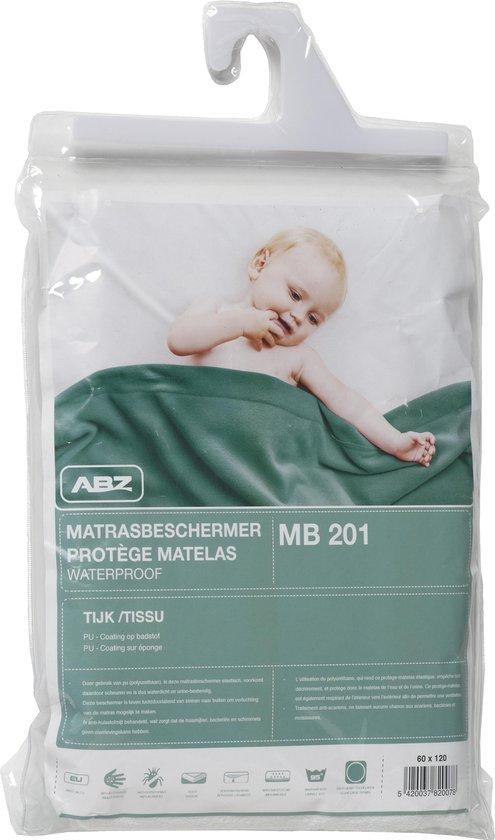 ABZ Waterdicht Hoeslaken 70x150 cm - Wit