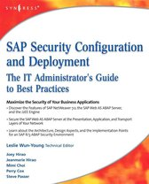 SAP Security Configuration and Deployment