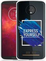 Moto Z3 Play hoesje Express Yourself
