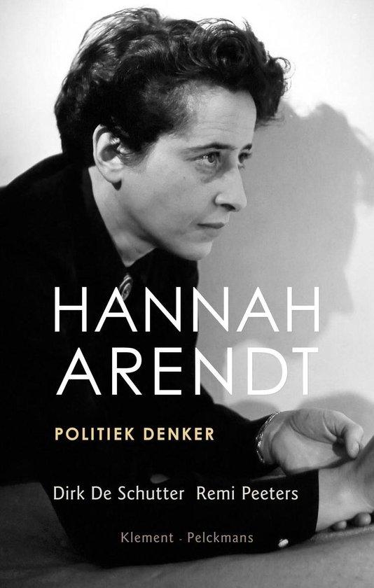 Boek cover Hannah Arendt van Dirk de Schutter (Paperback)