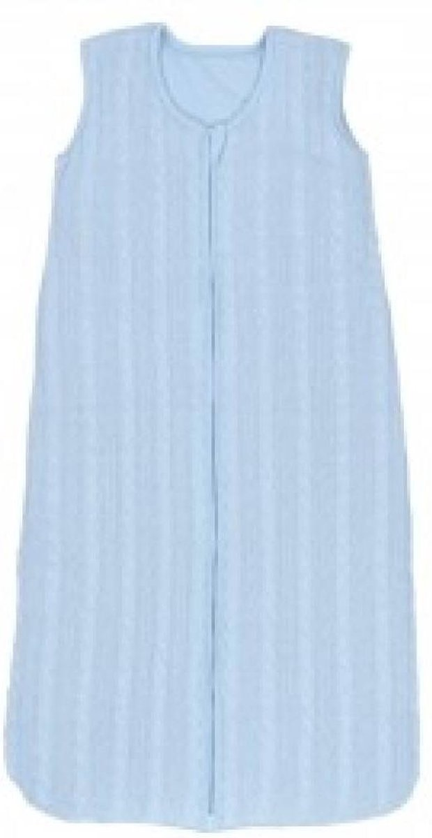 Slaapzak winter 90cm cable lichtblauw - Jollein