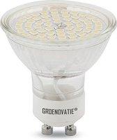 Groenovatie LED Spot GU10 Fitting - 5W - SMD - 52x50 mm - Warm Wit