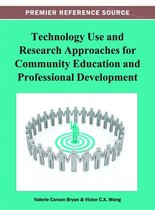 Omslag Technology Use and Research Approaches for Community Education and Professional Development
