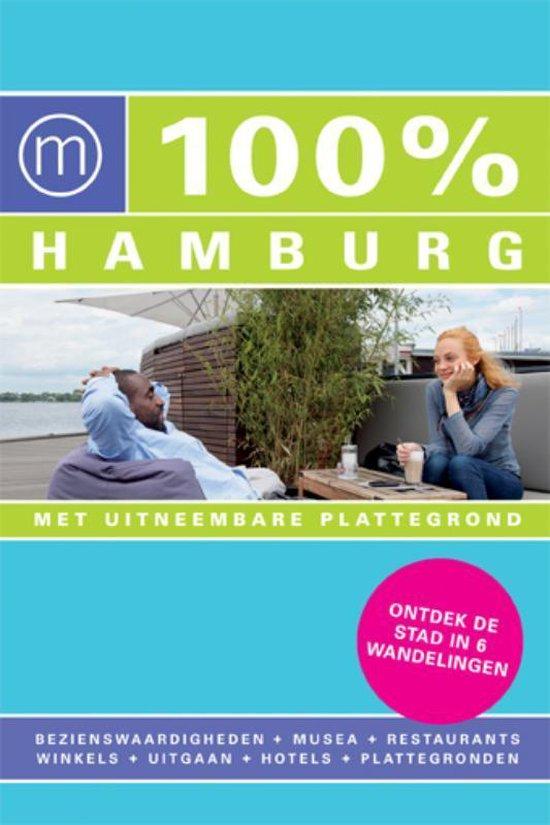 Cover van het boek '100% Hamburg' van Simone Smit