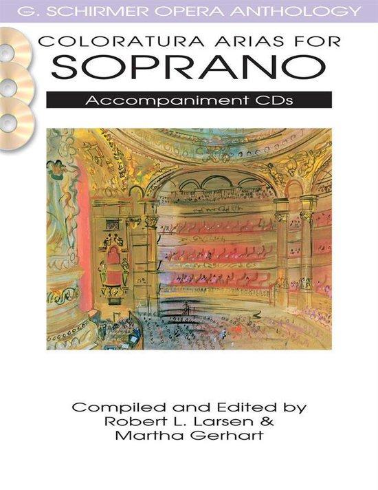 Afbeelding van Coloratura Arias For Soprano - 2 Accompaniment Cds