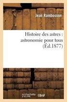Histoire des astres