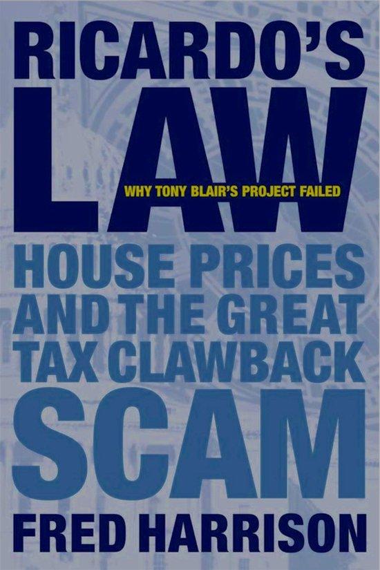 Boek cover Ricardos Law van Fred Harrison (Onbekend)